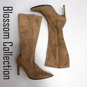 Blossom Collection Faux Suede Boots